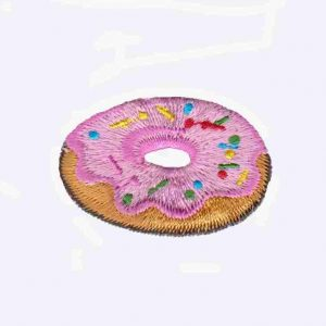 Pink Iced Donut Patch