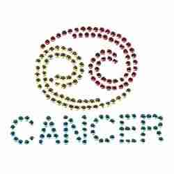 cancer zodiac sign applique