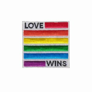 Love Wins Patch - Equality Love and Acceptance