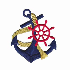 Navy Anchor Patch