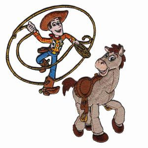Toy Story Woody and Bullseye Patches