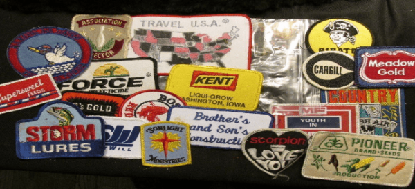 Company Advertising Patches