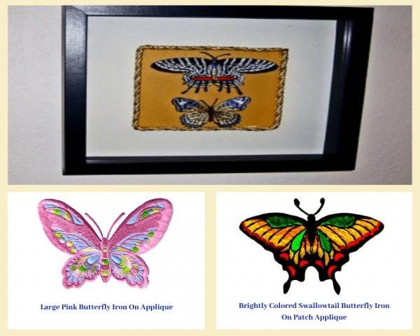 Butterfly Patches Use As Home Decor