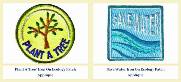 For a cause Iron-on Patches