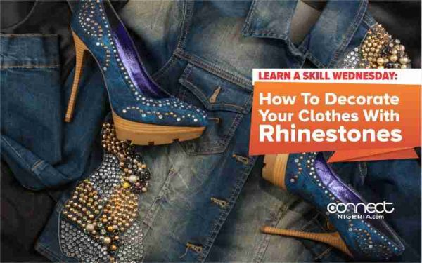 How To Decorate Your Clothes With Rhinestones