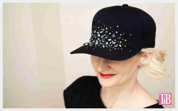Rhinestones Appliques On A Hat