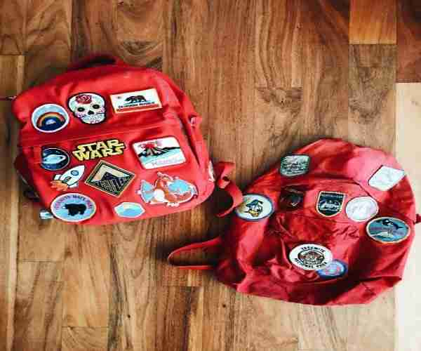 No-Sew Backpack Patches