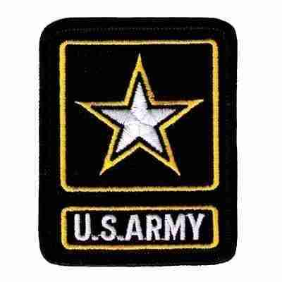 US Army ARMY OF ONE Iron On Military Patch
