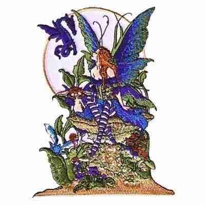 Amy Brown's 'Under Garden' Iron On Fairy Applique