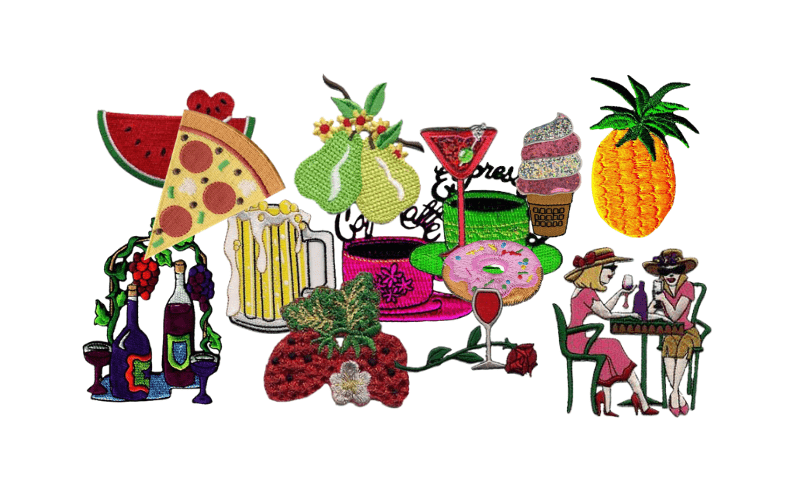 Food and Drink Patches